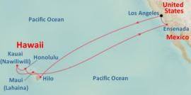 Route Map for the 2012 Hawaii Cruise