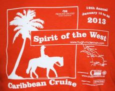 The 2013 Spirit of the West T-shirt for Hawaii!
