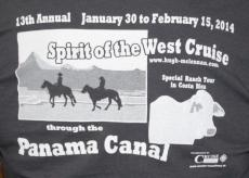 The 2014 Spirit of the West T-shirt for Hawaii!